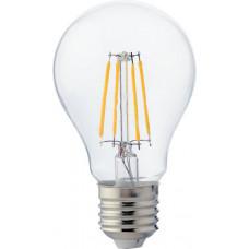 """Лампа светодиодная A55 6W E27 4LED COB 600LM 4000-4500K """"LEMANSO"""" LM338"""