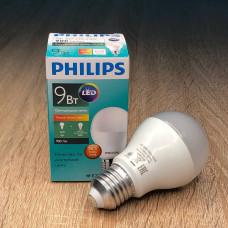 """Лампа светодиодная ESS LEDBulb 9W-100W 3000K 230V A60_E27 RCA """"PHILIPS"""" 8718696737514"""