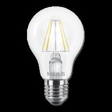 Лампа светодиодная A60 FM 8W 3000K 220V E27 MAXUS 1-LED-565