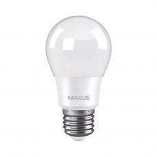 Лампа светодиодная A55 8W 3000K 220V E27 MAXUS 1-LED-773