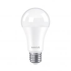 Лампа светодиодная A60 12W 3000K 220V E27 MAXUS 1-LED-777