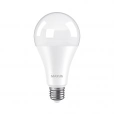 Лампа светодиодная A80 18W 4100K 220V E27 MAXUS 1-LED-784
