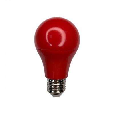 """Лампа светодиодная A60 7W E27 175-265V красная """"LEMANSO"""" LM3086"""