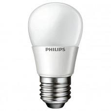 """Лампа светодиодная LEDBulb 4-40W 6500K 230V P45_E27 шарик """"PHILIPS"""" 8718696484920"""