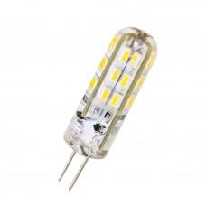 """Лампа светодиодная G4 1.5W 120LM 4500K 230V силикон """"LEMANSO"""" LM349"""