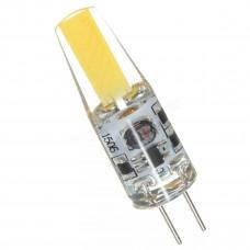 """Лампа светодиодная G4 2W COB 200LM 6500K 12V силикон """"LEMANSO"""" LM394"""