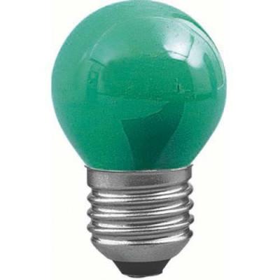 "Лампа светодиодная G45 1,2W E27 зеленый шарик ""LEMANSO"" LM705"