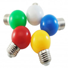 "Лампа светодиодная G45 1,2W E27 желтый шарик ""LEMANSO"" LM705"