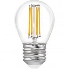 """Лампа светодиодная G45 4W E27 4LED 420LM 6500K шарик """"LEMANSO"""" LM389"""