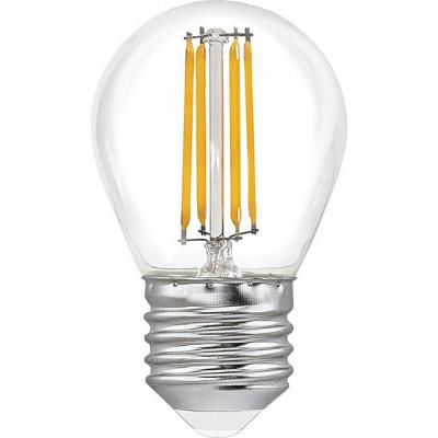 """Лампа светодиодная G45 4W E27 4LED 420LM 4500K шарик """"LEMANSO"""" LM389"""