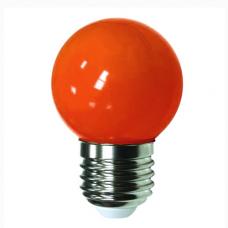 """Лампа светодиодная G45 1,2W E27 красный шарик """"LEMANSO"""" LM705"""