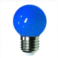 "Лампа светодиодная G45 1,2W E27 cиний шарик ""LEMANSO"" LM705"