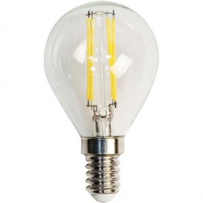 """Лампа светодиодная G45 4W E14 4LED 420LM 4500K шарик """"LEMANSO"""" LM390"""
