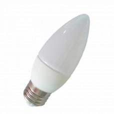 """Лампа светодиодная C37 7W E27 840LM 4000K 175-265V свеча """"LEMANSO"""" LM3042"""