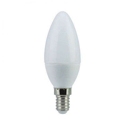 """Лампа светодиодная C37 7W E14 700LM 6500K 175-265V свеча """"LEMANSO"""" LM3043"""