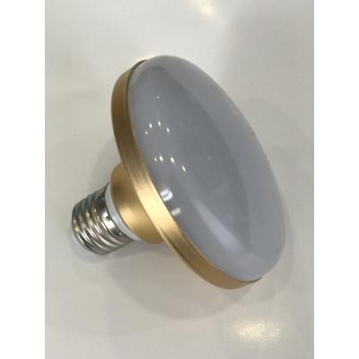 """Лампа светодиодная НЛО 12W E27 720LM золото 85-265V """"LEMANSO"""" LM726"""