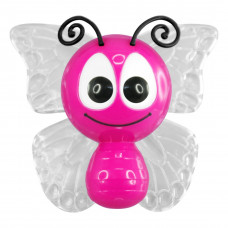 "Ночник Бабочка 4 LED*RGB с сенсором розовая ""LEMANSO"" NL14"