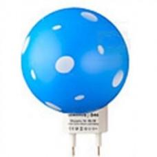 """Ночник Гриб 3 LED 6500K с сенсором синий """"LEMANSO"""" NL16"""