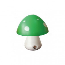 "Ночник Гриб 3 LED 6500K с сенсором зелёный ""LEMANSO"" NL16"