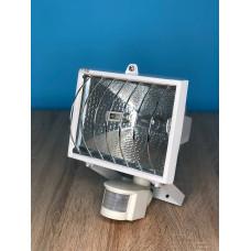 "Прожектор галогенный 500W IP44  J118 белый с сенсер ""Vito Light"""