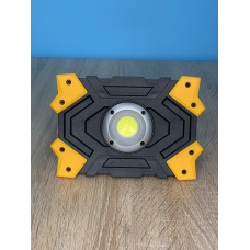 """Прожектор LED 5W COB 470LM 6500 IP44 жёлто-черный """"LEMANSO"""" LMP83"""