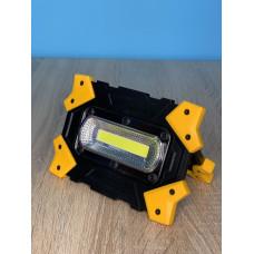 "Прожектор LED 5W COB 470LM 6500 IP44 жёлто-черний ""LEMANSO"" LMP84"