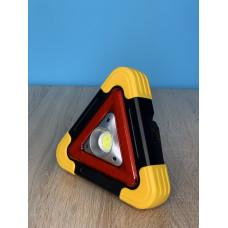 """Прожектор LED 10W COB 350LM 6500K IP54  с USB и аккум. жёлто-черный  """"LEMANSO"""" LMP93"""
