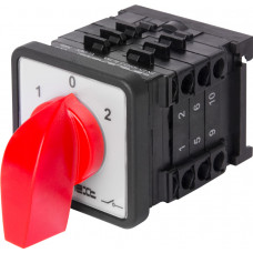 """Пакетный переключатель LK16/3.323-SP/45 щитовой, на DIN - рейку, 3p, 1-0-2, 16А """"E.NEXT"""" 8337-200"""