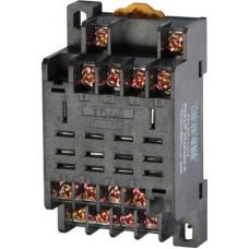 """Разъем модульный e.control.p104s для промежуточного реле 10А на 4 группы контактов """"E.NEXT"""" i.ptf.14a"""