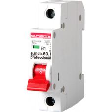 """Автоматический выключатель e.mcb.pro.60.1.B16 new, 1р, 16А, B, 6кА new """"E.NEXT"""" p041008"""