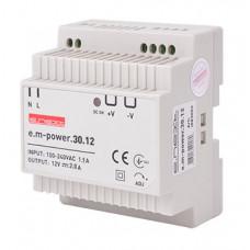 "Блок питания на DIN-рейку e.m-power.30.12 30Вт, DC12В ""E.NEXT"" i083002"