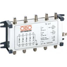 Коаксиальное устройство защиты для спутникового и кабельного многопозиционного подключения. OBO Bettermann 5083400