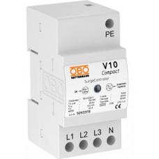 Разрядник для защиты от перенапряжений V10 Compact 280 B Класс II+III. OBO Bettermann 5093380