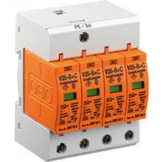 Комбинированный разрядник V25 B+C 3-280 Класс I+II. OBO Bettermann 5094423