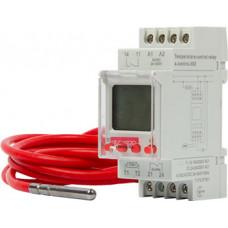 """Реле контроля температуры e.control.h02 с внешним датчиком температуры, 16А АС/DC 24-240 с """"E.NEXT"""" i0310017"""