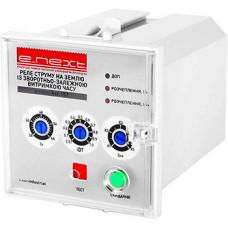"""Реле пробоя тока на землю с обратно-зависимой задержкой времени e.relay.kcr.153 """"E.NEXT"""" i0640009"""
