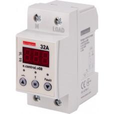 """Реле контроля напряжения однофазное 32А c индикацией e.control.v08 """"E.NEXT"""" p0690013"""