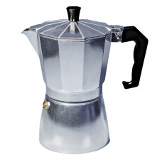 """Гейзерная кофеварка 6 порций,300мл, серебро """"CON BRIO"""" СВ6106"""
