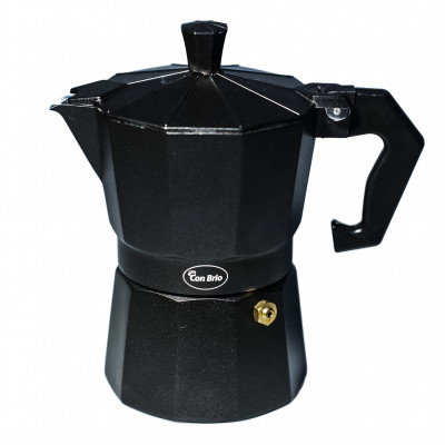 """Гейзерная кофеварка 3 порции,150мл """"CON BRIO"""" СВ6403"""