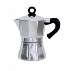 """Гейзерная кофеварка 3 порции,150мл """"CON BRIO"""" СВ6503"""
