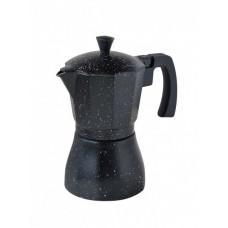 """Гейзерная кофеварка ИНДУКЦИЯ,3 порции,150мл, алюминиевый корпус """"CON BRIO"""" СB 6803"""