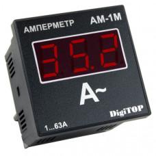 """Амперметр Aм-1м (внешний ТТ) щитовой трёхфазный """"DigiTOP"""""""