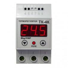 """Терморегулятор ТК-4к (одноканальный, датчик ТХА) DIN """"DigiTOP"""""""