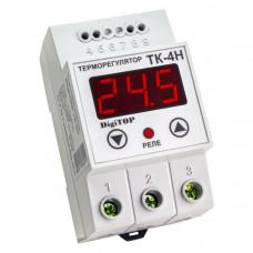 """Терморегулятор ТК-4н (одноканальный, датчик DS18B20) DIN """"DigiTOP"""""""