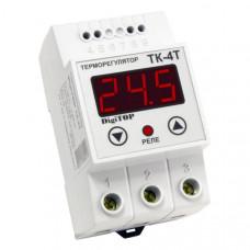 """Терморегулятор ТК-4тп (одноканальный, датчик DS18B20) DIN """"DigiTOP"""""""