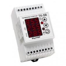 """Терморегулятор ТК-5в (трехканальный, датчик DS18B20) DIN """"DigiTOP"""""""