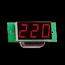 """Вольтметр действующего значения переменного тока Вм-19 (220в) однофазный без корпуса """"DigiTOP"""""""