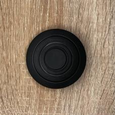 "Кнопка круглая черная ""LEMANSO"" LMA095"