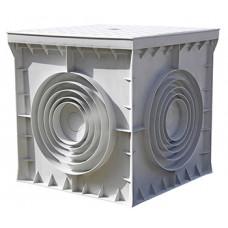"""Колодец кабельный пластиковый e.manhole.200.200.200.cover, 200х200х200мм с крышкой """"E.NEXT"""" CP202020"""