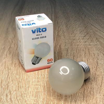 Лампа накалювання ДШ/Е27/60W/матова/FRS/GLOBE INC.BULB  Vito Light